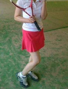 テニス赤1
